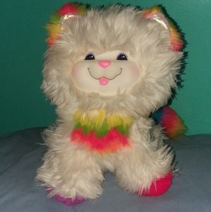 Kitty Brite 1983 Mattel Plush Rainbow Brite Toy